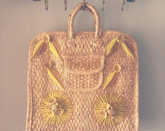 Large mexican woven bag