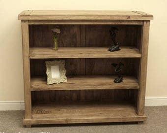 Baku mango wood 3 shelf bookcase