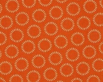 Polka dot patchwork monster Bash orange moda fabric