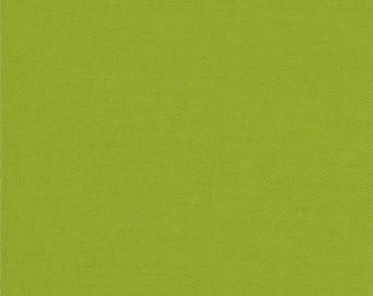 Chartreuse green cotton patchwork fabric