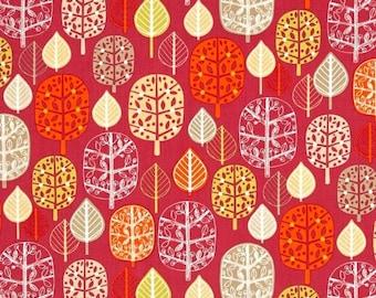 Patchwork trees Kaufman fabric