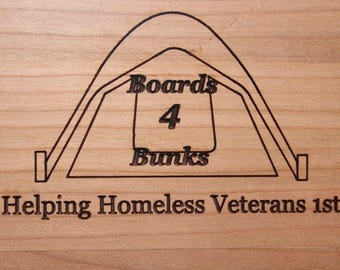 Large - Boards4Bunks Cutting Board