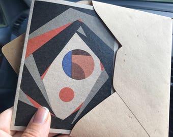 Revolving Time Gift card