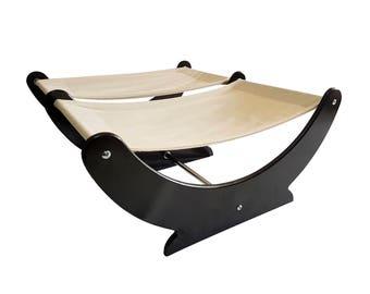 DOUBLE Lazy Cat Hammock Cat bed perch tree furniture