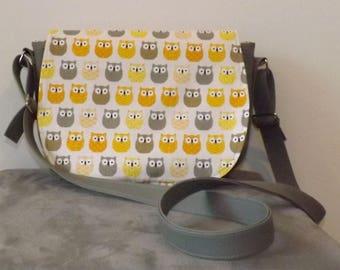 Grey Owl Messenger bag