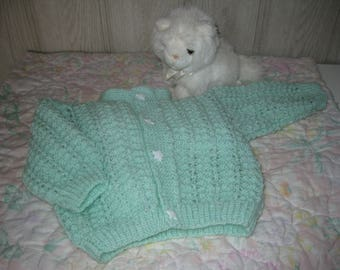 baby cardigan vest