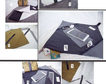 Origami 3 in 1 tablet protected