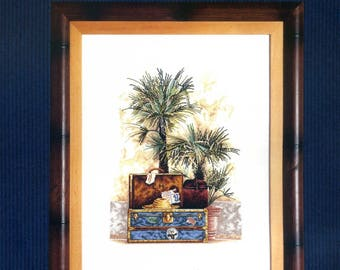 cross stitch Kit counted royal paris: Blue hours