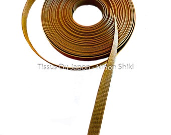 10 meters basketry - paper tape basketry - kraft paper tape - paper weaving basketry - TV3 camel corrugated kraft paper