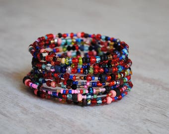 Unique colorful bracelet