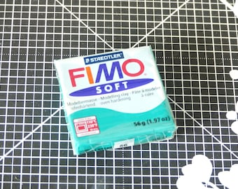 Polymer clay - dough baked - Fimo Soft - 56 - Emerald