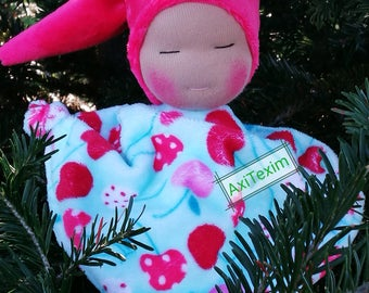 Blanket style waldorf cherries patterns.