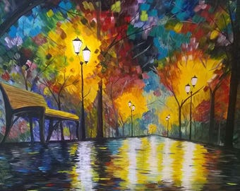 Acrylic full of light 60 x 80 cm