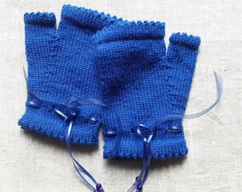 Mitts woman lambswool
