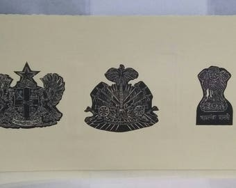 Coat of Arms Countries Wood Print