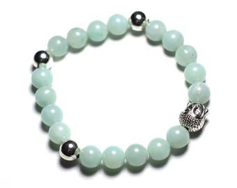 Buddha bracelet - Amazonite gemstone