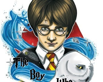 The boy who lived Standard Print