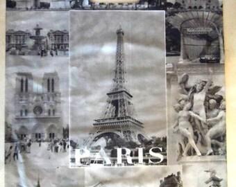 "set of 10 bags gift collection ""Paris"" 43 x 34 cm"