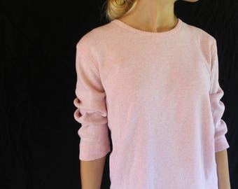 vintage 3/4 sleeve thermal