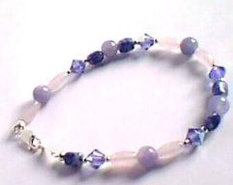 Bracelet-gemstone - Crystal - precious-
