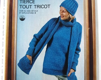 vintage out - November 1976 KNITTING CROCHET booklet