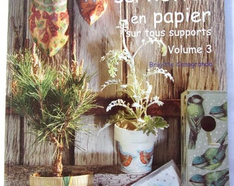 new - paper collage book