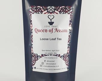 Queen of Assam Loose Leaf Tea