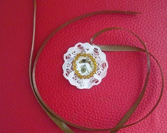 Dial pendant Pocket Watch and lace
