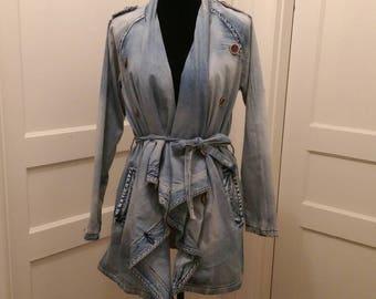 Designer Denim Dress/Coat