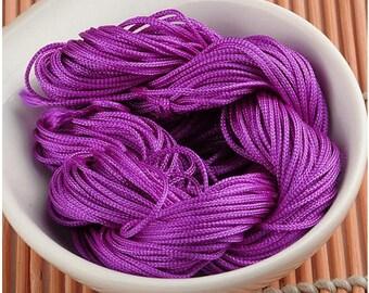 Purple macrame craft 30 meters wire
