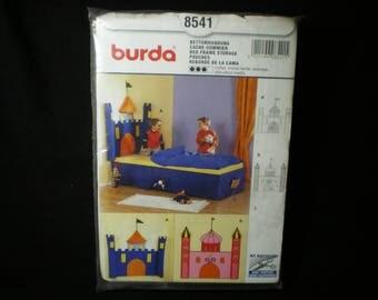 Burda No. 8541 Castle bed skirts pattern
