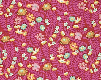Tula Pink - Eden - Wildflower - PWTP073-TOMAT