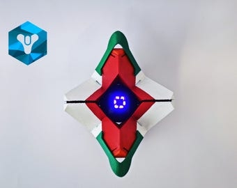 Full scaled LED Ghost Cayde-6 shell
