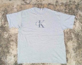 Vintage 90s Calvin Klein T-Shirt size L/XL