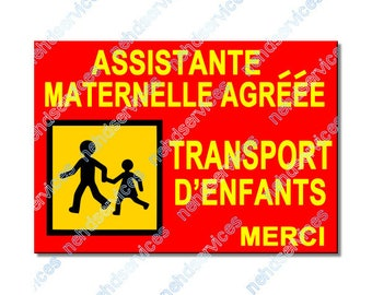 Assistant preschool children carrying magnetic plate