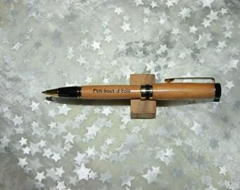 "Twist ballpoint pen ""Sandra"" been hand-turned wood CADE dns"