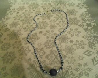 beautiful unique and original Necklace blue