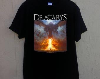 Dracarys Game of Thrones shirt khaleesi tee shirt unisex t-shirt / mens / womens / black birthday present Christmas gift cotton