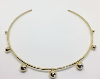 Chocker Gold Brass