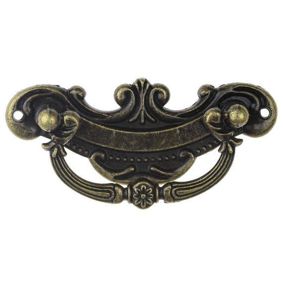 1 handle - bronze - size: 94 mm