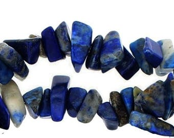 Chips lapis lazuli x 25