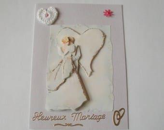 No. 16 wedding 3d greeting card