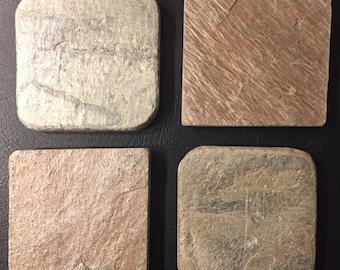 Rustic Stone Coasters
