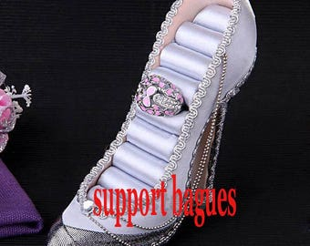 Shoe ring display 175 x 50 x 130 mm