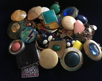 Destash Lot of Single Earrings
