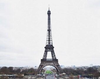 Full Eiffel Tower Print