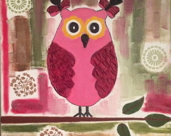 Original abstract OWL with quilts