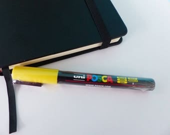 Yellow tip POSCA PC-3 m 0.9 - 1.3 mm bullet shaped tapered