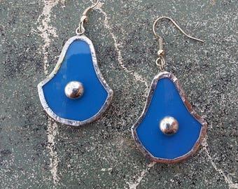 Blue azure silver