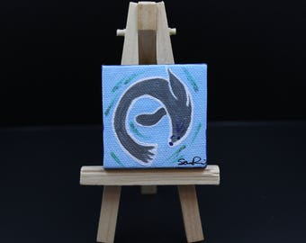 Miniature Seal Painting